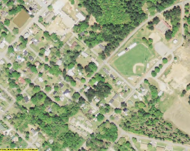 McCormick County, SC aerial photography detail
