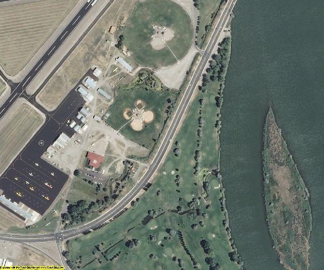 Minidoka County, ID aerial photography detail