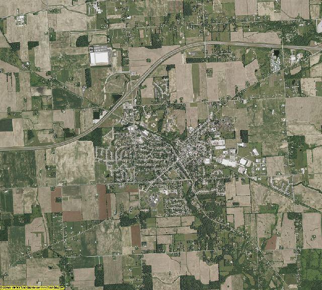 Montgomery County, Ohio aerial photography