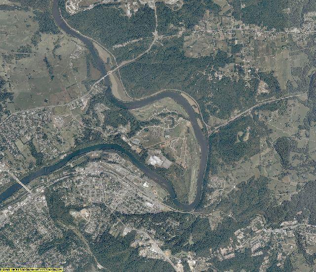 Montgomery County, Virginia aerial photography