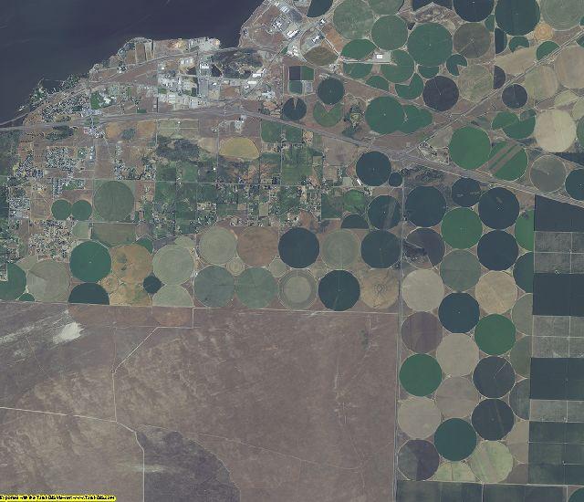 Morrow County, Oregon aerial photography