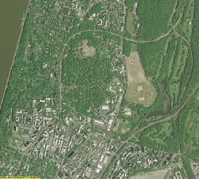 New York County, New York aerial photography