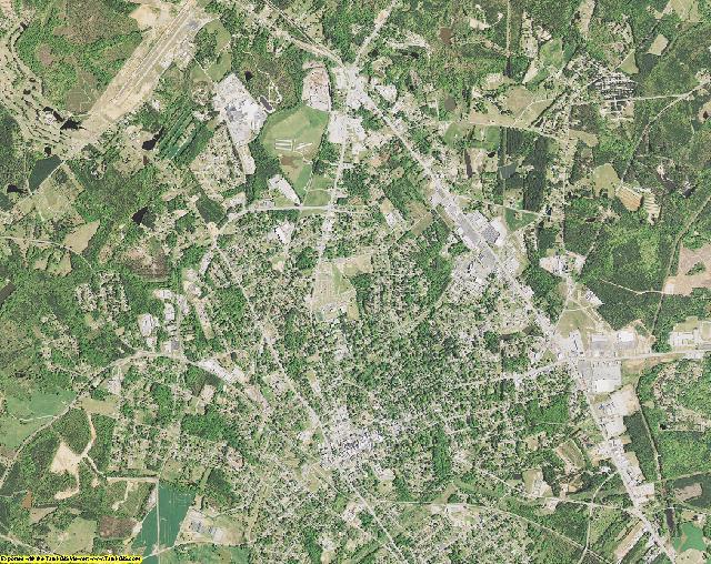 Newberry County, South Carolina aerial photography