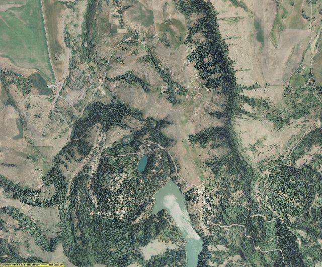 Nez Perce County, Idaho aerial photography