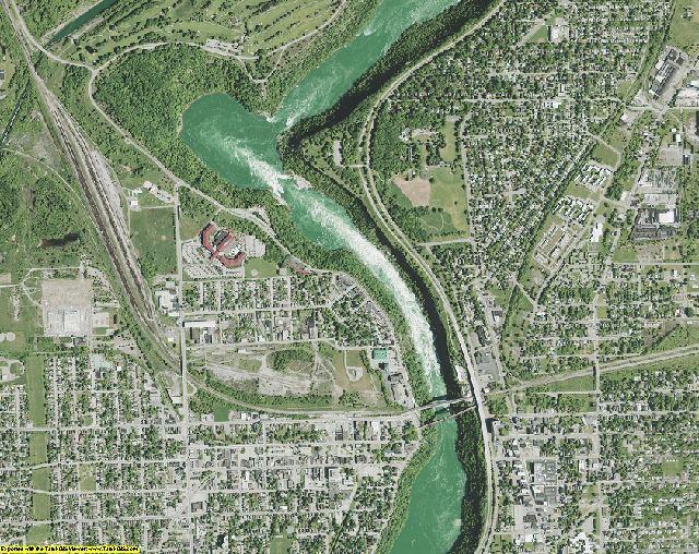 Niagara County, New York aerial photography