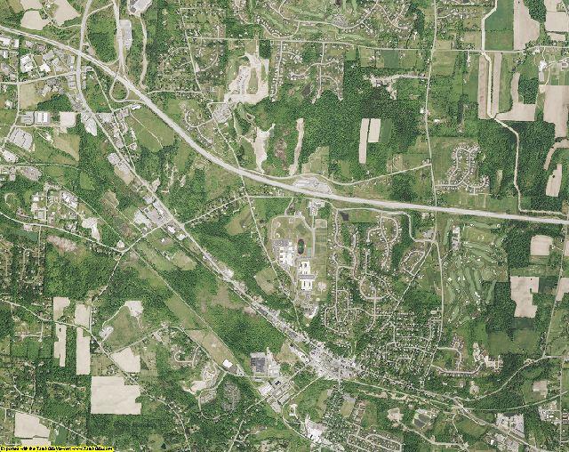 Ontario County, New York aerial photography