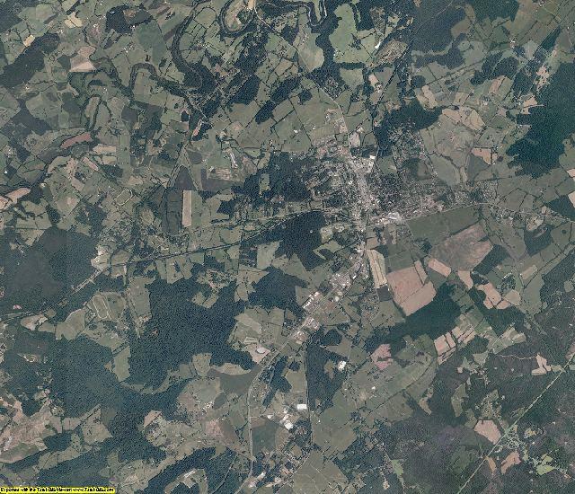 Orange County, Virginia aerial photography