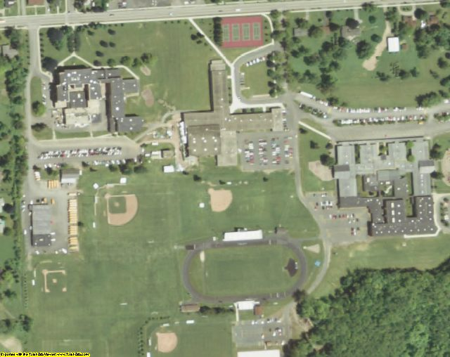 Orleans County, NY aerial photography detail