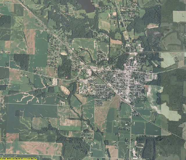Perry County, Illinois aerial photography