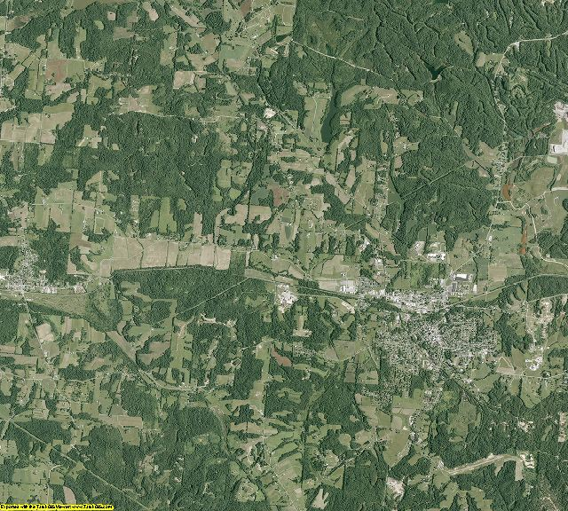 Perry County, Ohio aerial photography