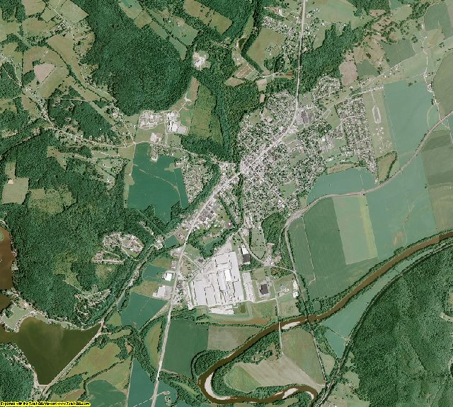 Pike County, Ohio aerial photography