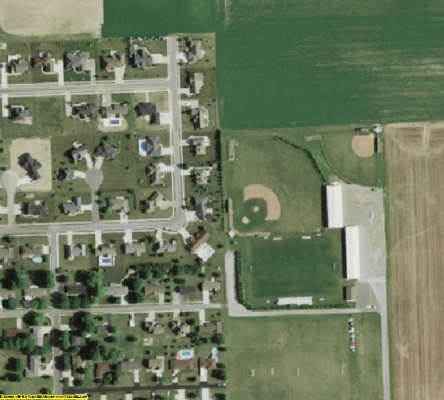Putnam County, OH aerial photography detail