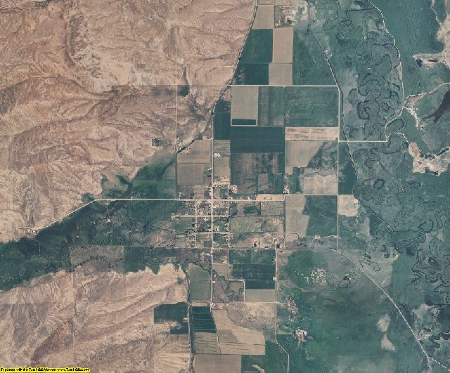 Rich County, Utah aerial photography