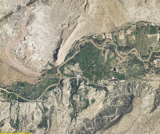 Rio Arriba County, New Mexico aerial photography