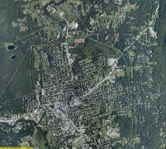 Rutland County, Vermont aerial photography