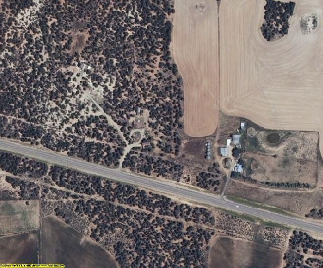 San Juan County, UT aerial photography detail