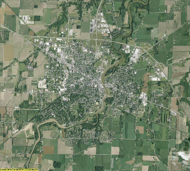 Sandusky County, Ohio aerial photography
