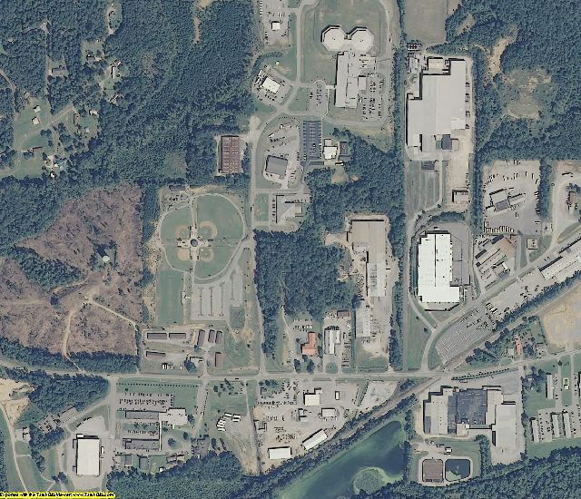 Shelby County, AL aerial photography detail