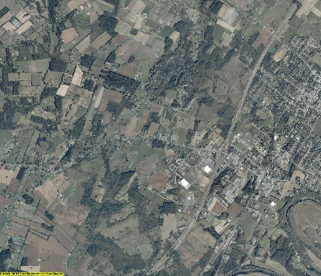 Shenandoah County, Virginia aerial photography