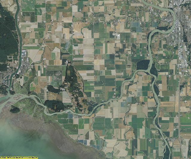 Skagit County, Washington aerial photography