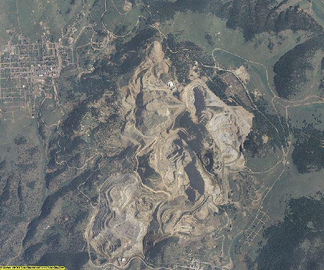 Teller County, Colorado aerial photography