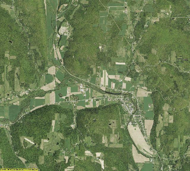 Tioga County, New York aerial photography