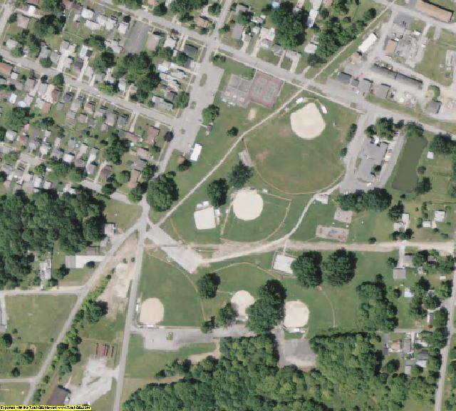 Trumbull County, OH aerial photography detail