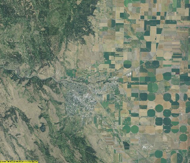 Union County, Oregon aerial photography