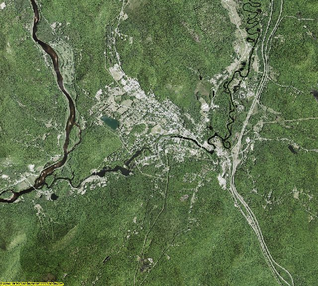 Warren County, New York aerial photography