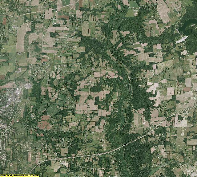 Warren County, Ohio aerial photography