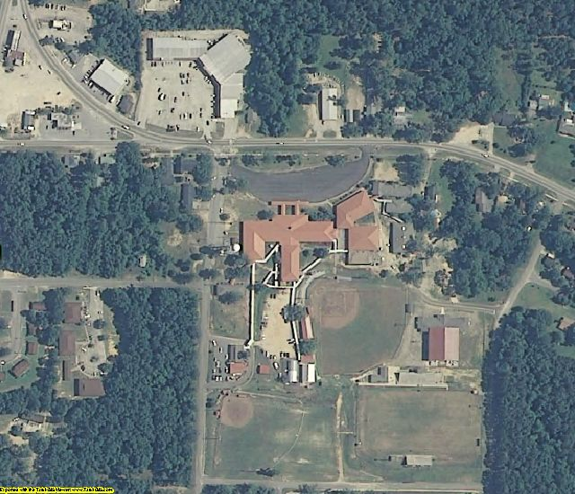 Washington County, AL aerial photography detail