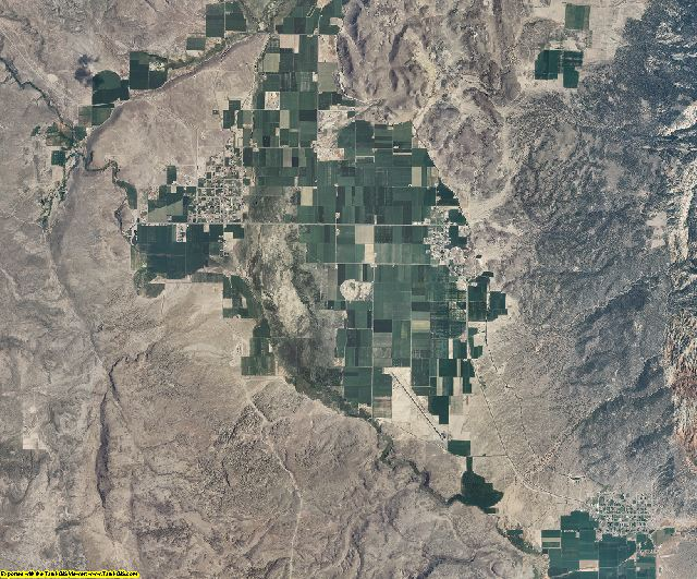 Wayne County, Utah aerial photography