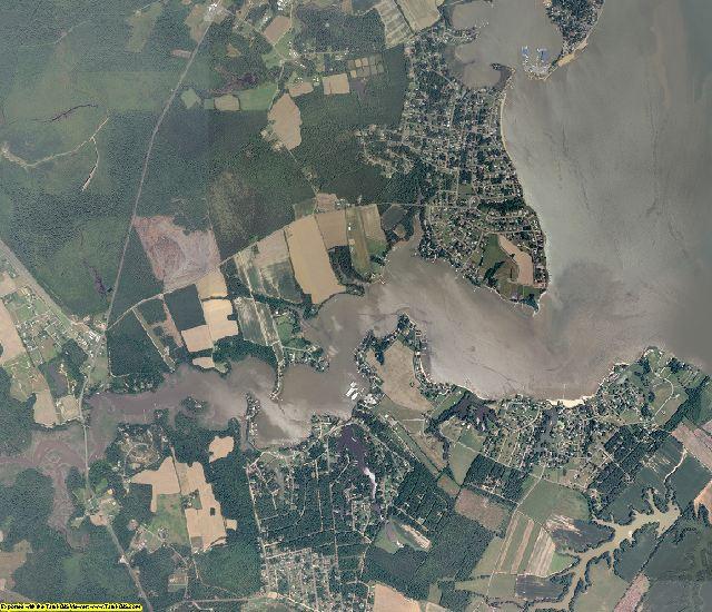 Westmoreland County, Virginia aerial photography