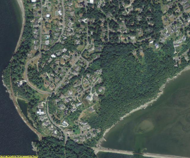 Whatcom County, WA aerial photography detail