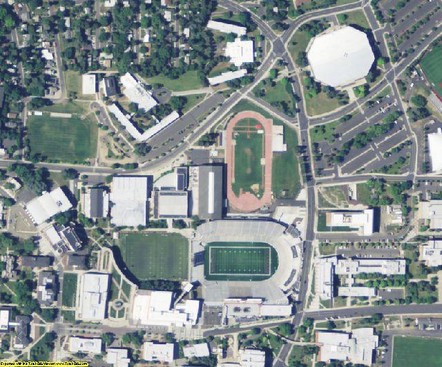 Whitman County, WA aerial photography detail