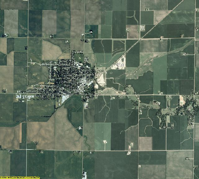 Woodford County, Illinois aerial photography