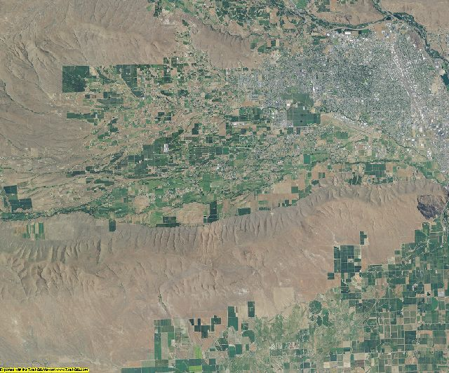 Yakima County, Washington aerial photography
