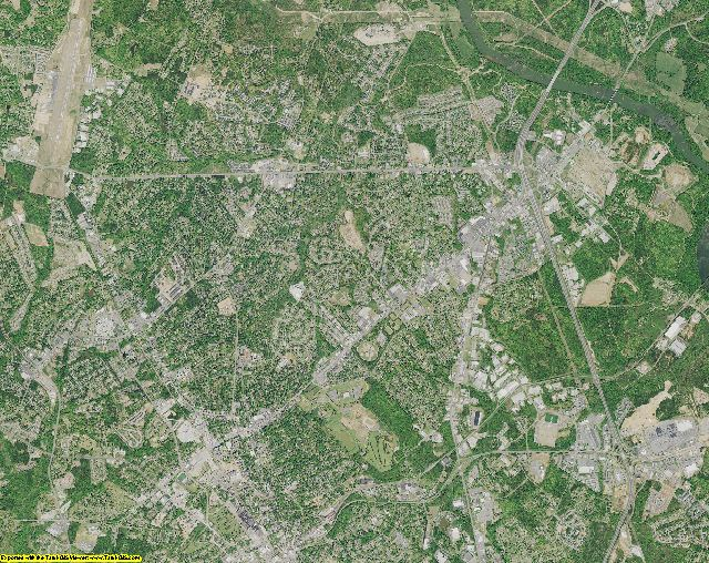 York County, South Carolina aerial photography