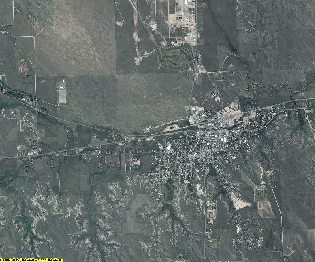 Yuma County, Colorado aerial photography