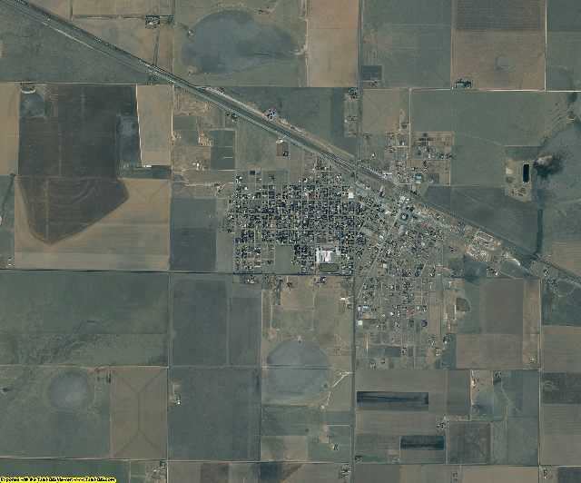 Armstrong County, Texas aerial photography