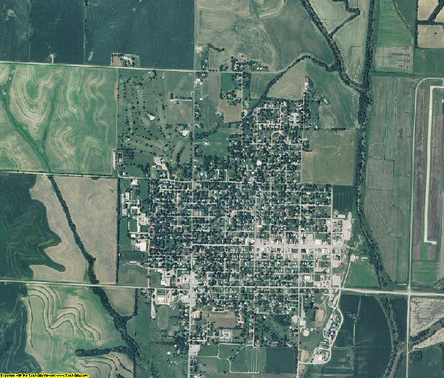 Atchison County, Missouri aerial photography