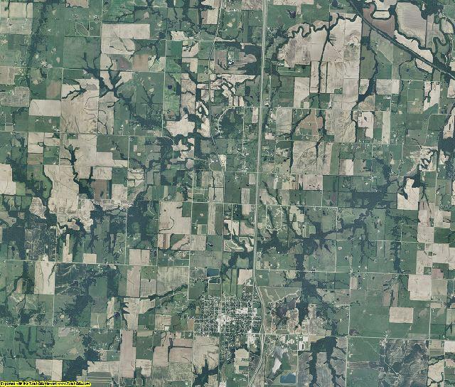 Bates County, Missouri aerial photography