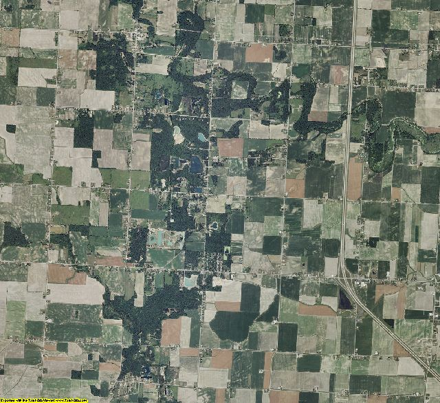 Bay County, Michigan aerial photography