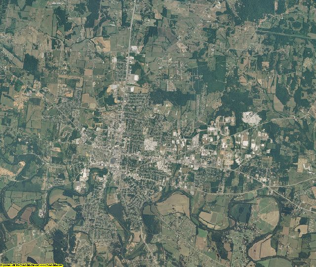 Bedford County, Tennessee aerial photography