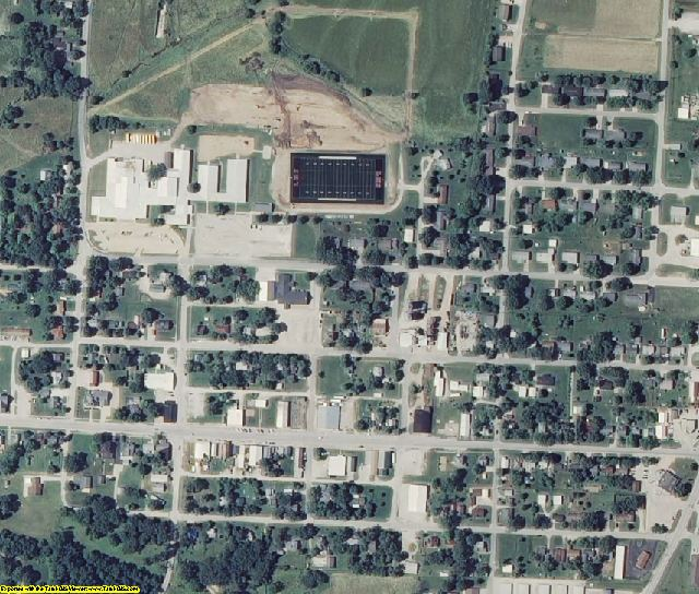 Benton County, MO aerial photography detail