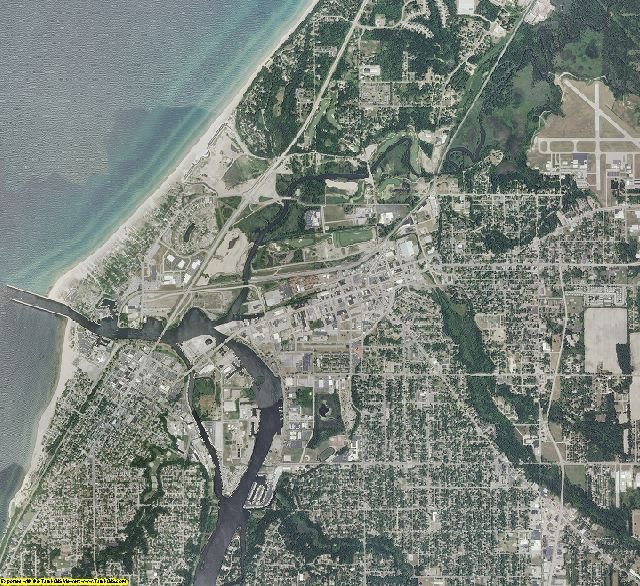 Berrien County, Michigan aerial photography