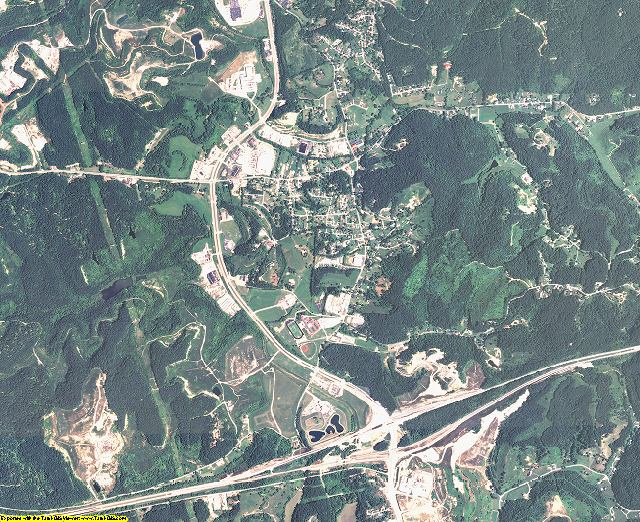 Boyd County, Kentucky aerial photography