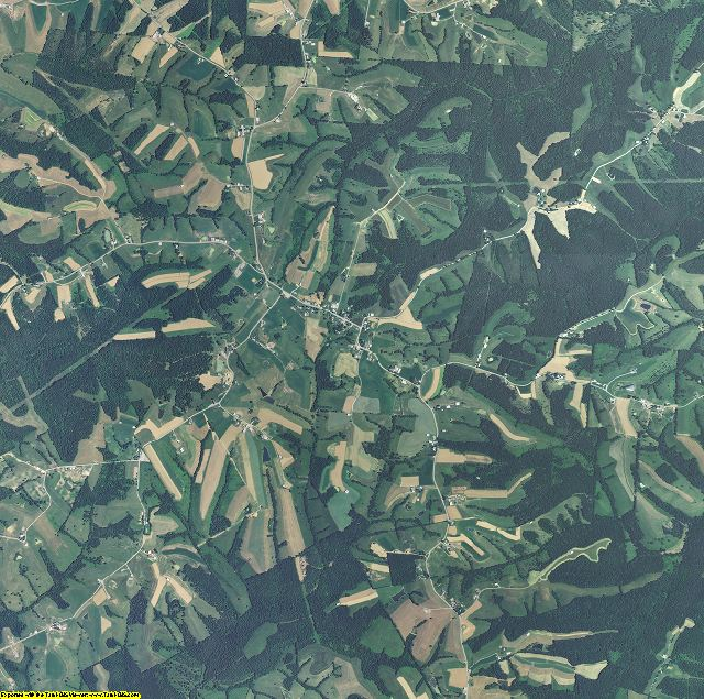 Bracken County, Kentucky aerial photography