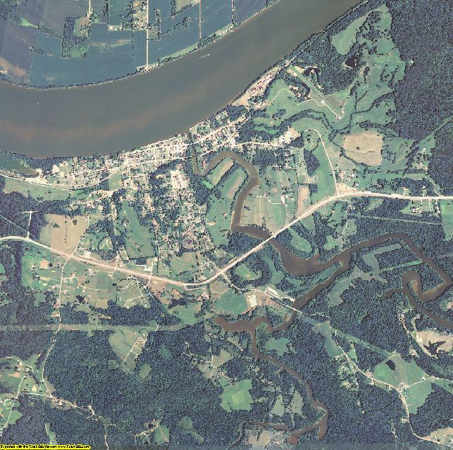 Breckinridge County, Kentucky aerial photography