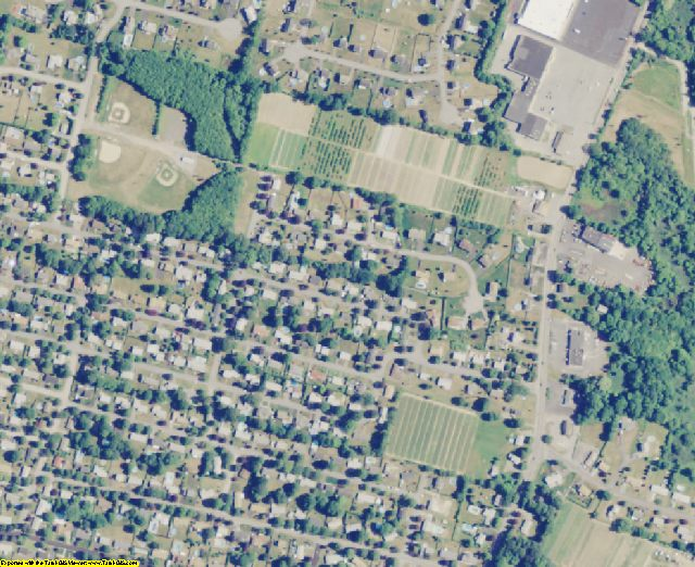 Bristol County, MA aerial photography detail